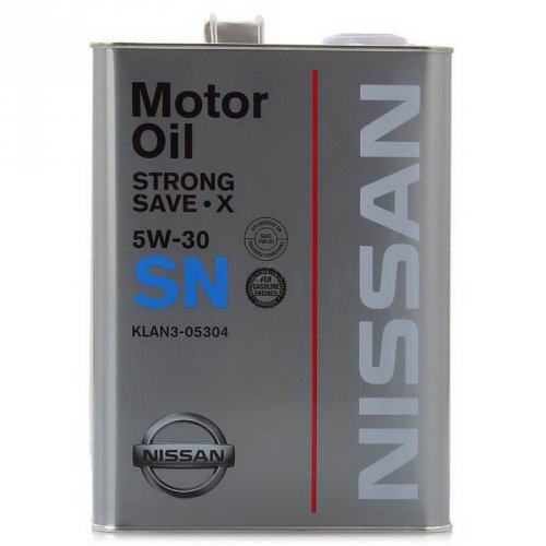 Масло моторное Nissan Strong Save X 5w30 SN 4 литра